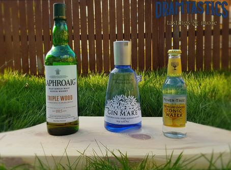 Gin Tonic & Whisky Teil 1 – Gin Mare + Fever Tree Indian Tonic & Laphroaig Triple Wood