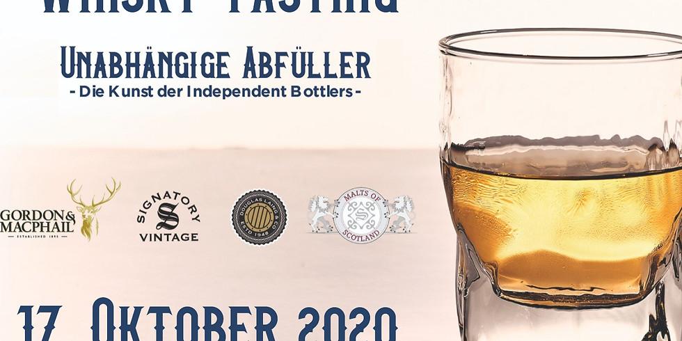 """Whiskytasting """"Unabhängige Abfüller"""""""