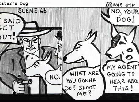 Writer's Dog Scene 66