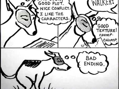 Writer's dog 2
