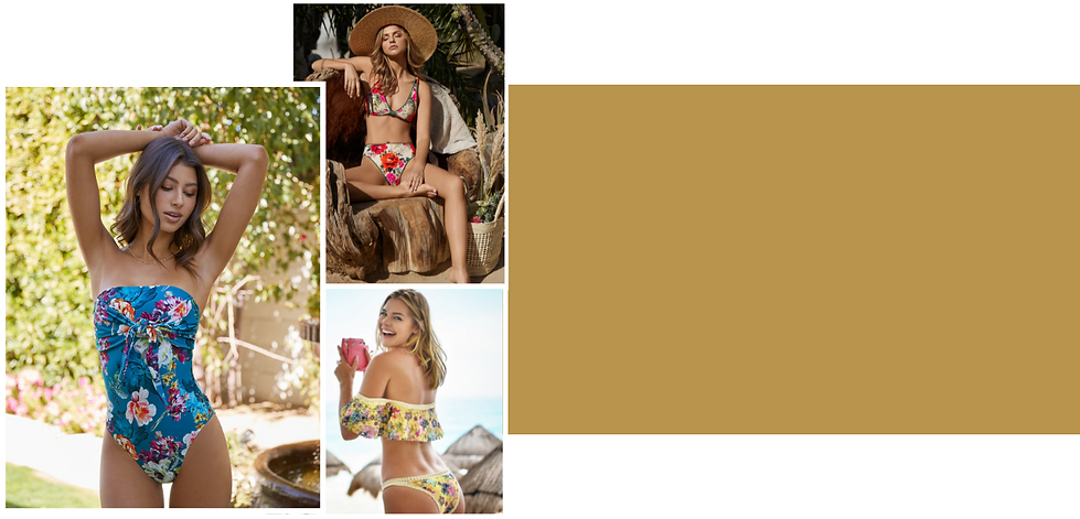 Shop for most trending floral swimsuits from best designer swimwear brands online from sun vixen swimwear. Sun vixen swimwear is an online store for best designer swimwear in Canada