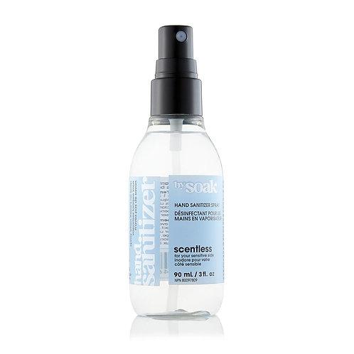 90 ml hand sanitizing spray soak wash scentless