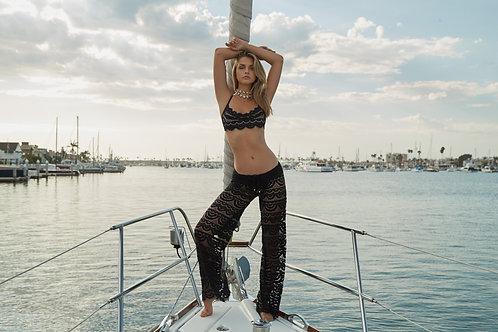 bikini cover ups swimsuit cover up pants pilyq malibu lace diva