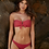 crimson teeny Low Rise Bikini Bottoms pilyq