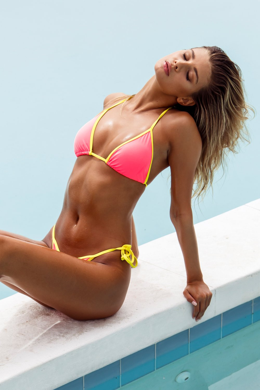 Shop for hot bikinis and skimpy swimsuits by sauvage from sun vixen swimwear - a luxury designer swimwear store in calgary canada