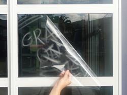 grafitti-film-removal-window-tinting-sydney-shopfront