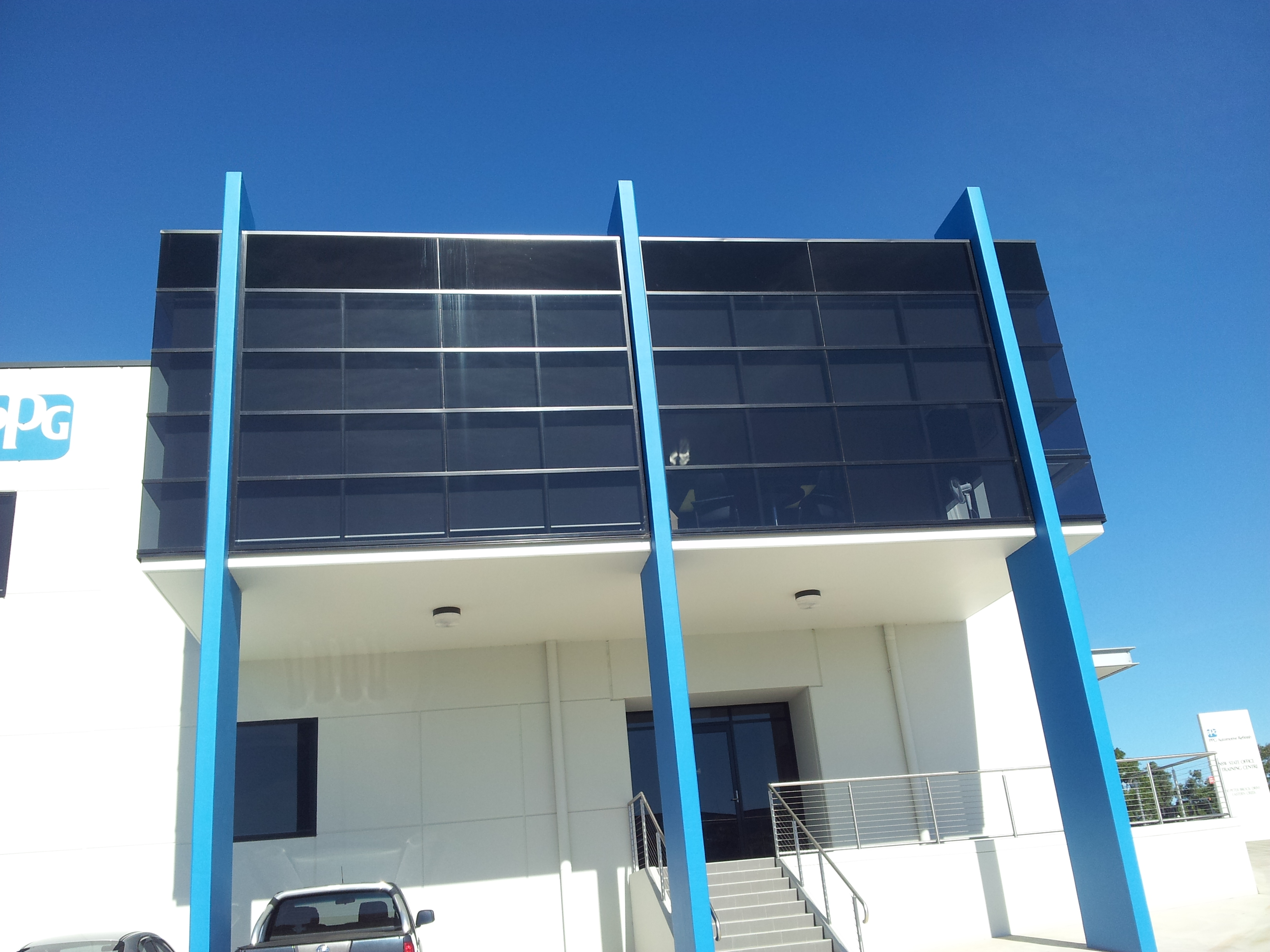 office-window-tinting-sydney-solar-film-commercial-factory