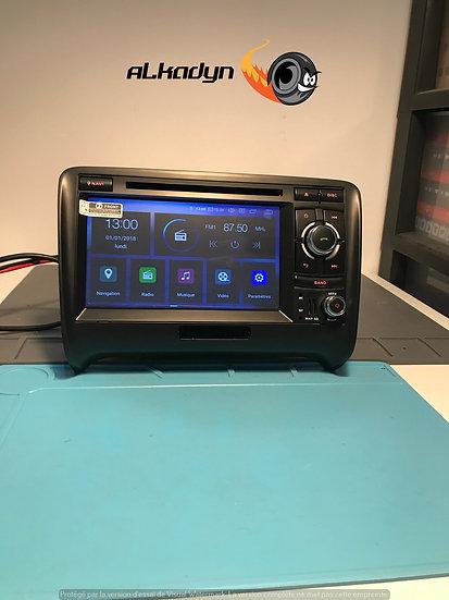 Autoradio GPS Audi TT Alkadyn Android 9.0 haut de gamme version 2