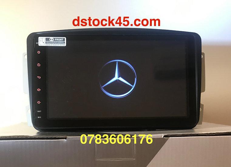 Autoradio GPS Mercedes Vito Classe C CLK Android 9.0 w209 w203