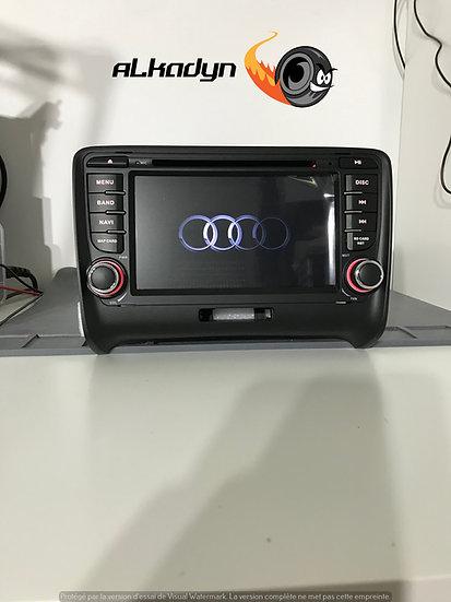 Autoradio GPS Audi TT Alkadyn  Android 10.0 bouton bas