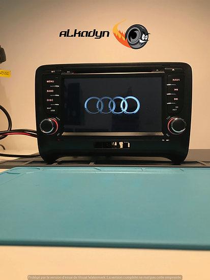 Autoradio GPS Audi TT Alkadyn Android 9.0 haut de gamme