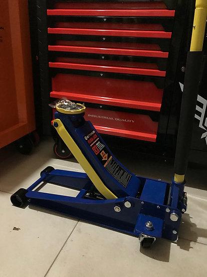 Cric hydraulique bleu 4 tonnes Huttenberg