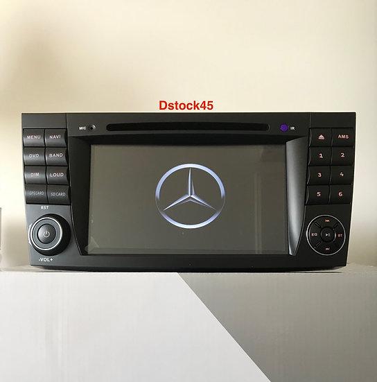 Autoradio GPS Mercedes Classe E W211 CLS W219 Alkadyn ANDROID9 9.0