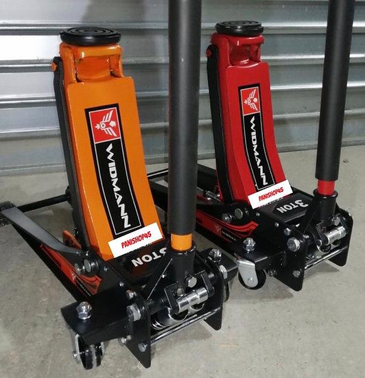 Cric extra plat hydraulique WIDMANN orange