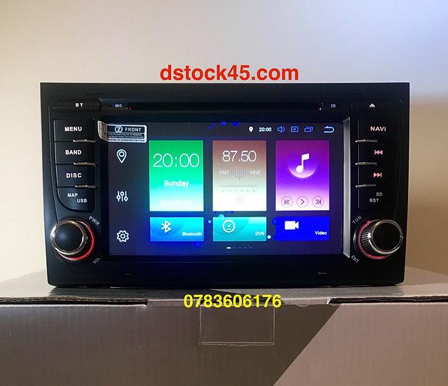 Autoradio GPS Audi A4 Android 10.0 haut de gamme 4Go de RAM