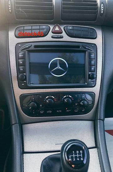 Autoradio GPS Mercedes Vito Classe C CLK Viano Alkadyn Android 10.0