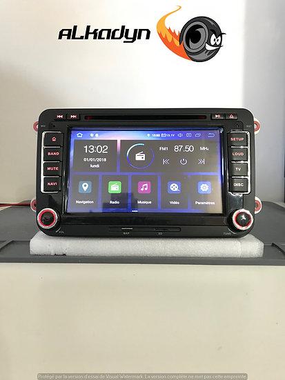 Autoradio PX GPS Golf 5 Golf 6 Touran Polo Passat Tiguan Eos Android 10 Alkadyn