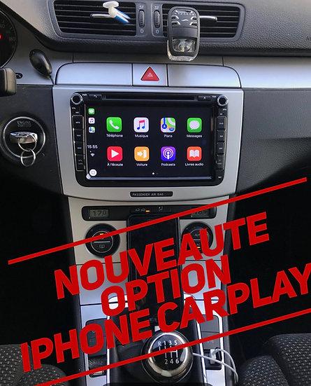 CARPLAY pour Iphone intégrée dans l'autoradio