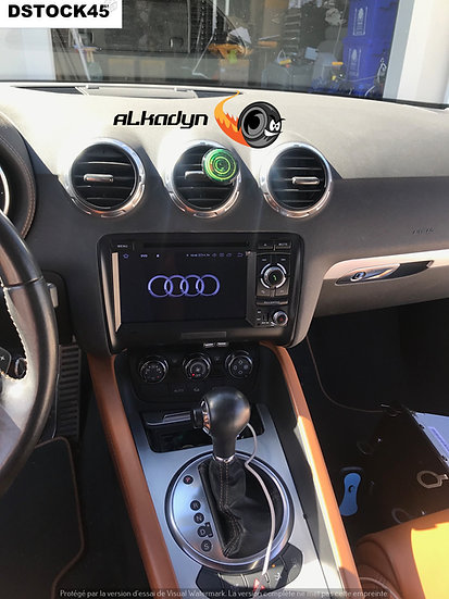 Autoradio GPS Audi TT Android 10.0 bouton droite haut de gamme