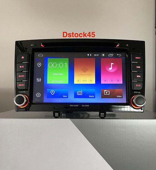 Autoradio GPS Peugeot RCZ 308cc Noir Alkadyn Android 10.0 seconde main