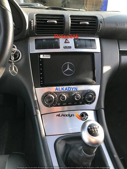 Autoradio GPS Mercedes Classe C W203, CLK, CLC, CLS écran king size Android 10.0