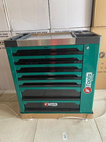 Servante à outils FTOOLS 7 tiroirs 6 remplis + placard