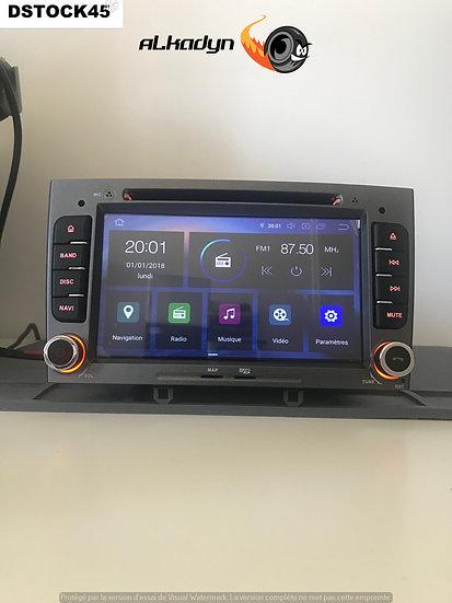 Autoradio GPS Peugeot 308 gris Alkadyn Android Haut de gamme