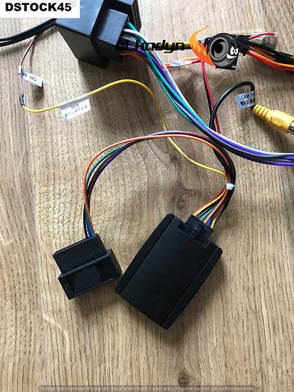 Décodeur / convertisseur signal caméra origine VW vers RCA