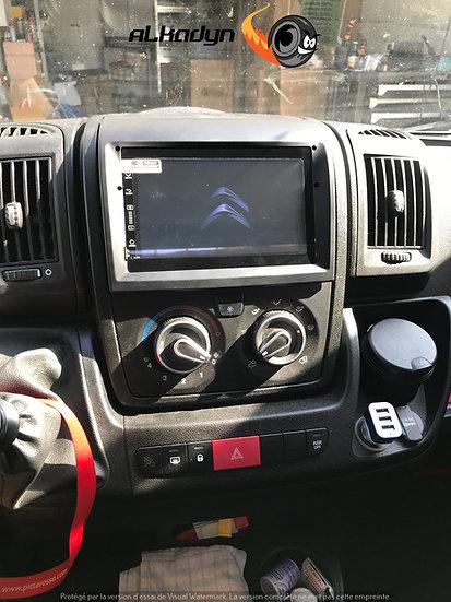 Autoradio full tactile GPS Fiat Ducato Jumper Boxer 2008-2015 Android 10