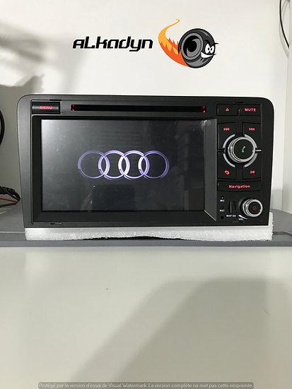 Autoradio GPS Audi A3 Alkadyn Android 10.0 Bouton droite