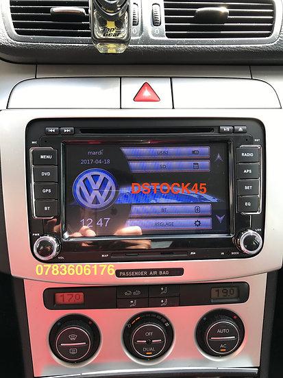 Autoradio GPS Golf 5 Golf 6 Touran Polo Passat Tiguan Eos