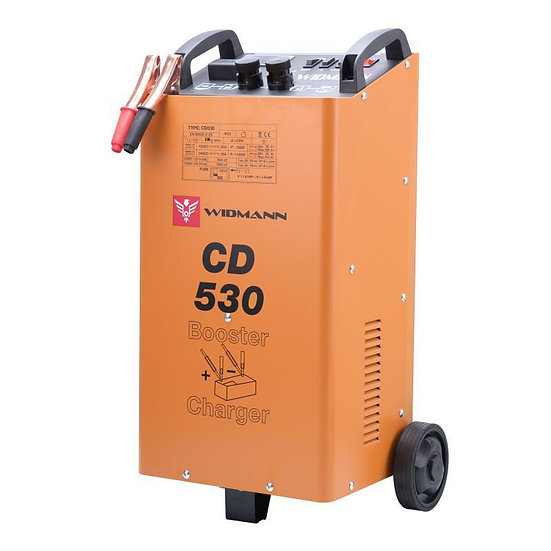 Booster / Chargeur de batterie CD530 Widmann 12V/24V