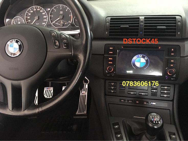 Autoradio GPS BMW E46 ROVER 75 GPS 316 318 320 325 330 Android 10