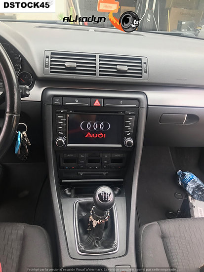 Autoradio GPS Audi A4 S4 Alkadyn Android 10.0
