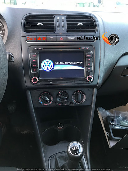 Autoradio GPS Golf 5 Golf 6 Touran Polo Passat Tiguan Eos Android 9