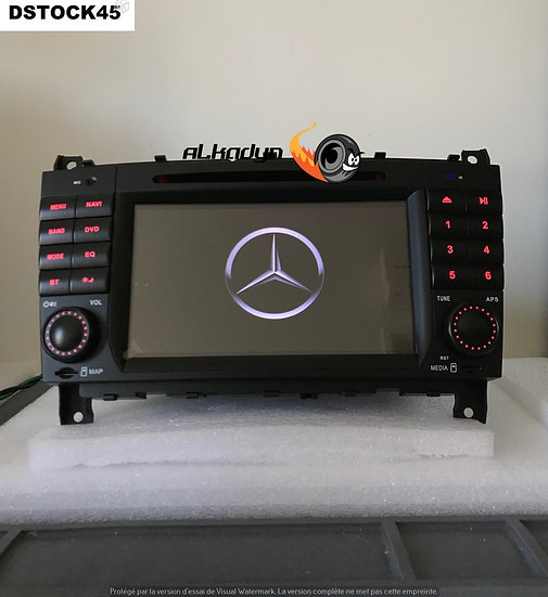Autoradio GPS Mercedes Classe C CLK CLC Alkadyn Android 10.0 w203 w209
