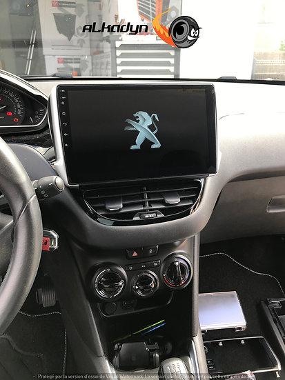 Autoradio GPS Peugeot 208 et 2008 Alkadyn Android 10.0