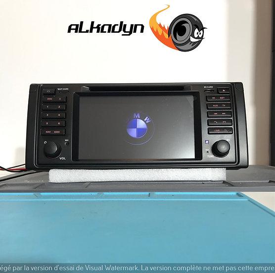 Autoradio GPS bmw E39 serie 5 X5 E53 Alkadyn android