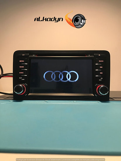Autoradio GPS Audi A3 S3 Android 10.0 reconditionné a neuf