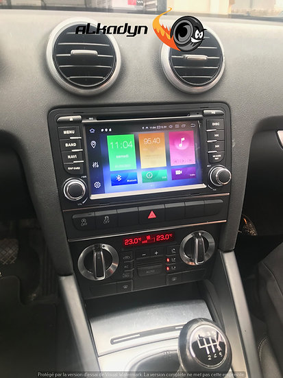 Autoradio GPS Audi A3 Alkadyn Android 10.0 4Go Ram
