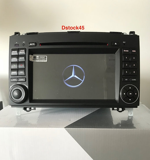 Autoradio GPS Vito Viano Sprinter Classe A B Alkadyn android 10.0 reconditionné