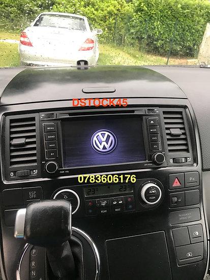 Autoradio GPS Volkswagen VW T5 Touareg Android 9.0