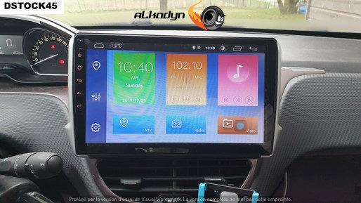 Autoradio GPS Peugeot 2008 Alkadyn Android 10.0