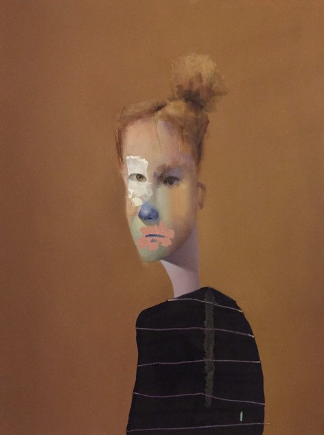 Untitled Portrait with Drios and Brown P