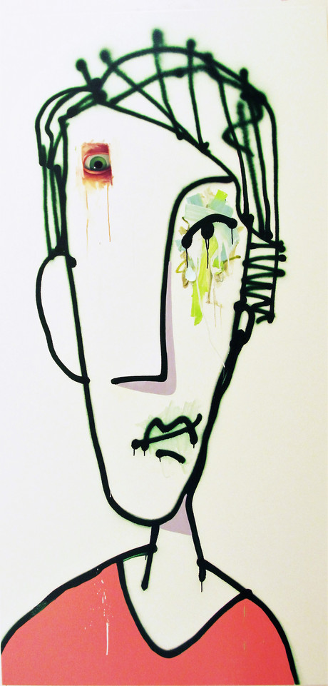 """a01_2011_""""Untitled_Spray_Portrait_with_P"""