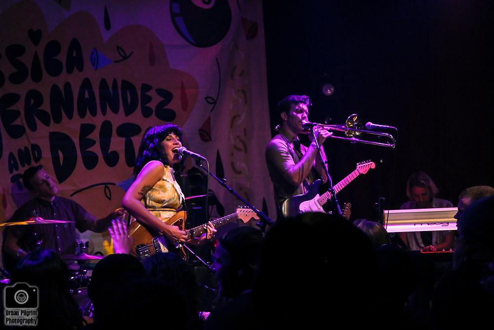 Jessica Hernandez & The Deltas concert at Rickshaw Stop, Urban Pilgrim Photography