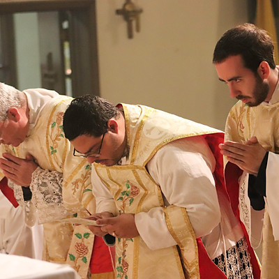 Fr. Roa's 10th Anniversary Solemn High Mass