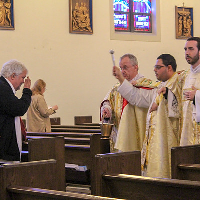 Father Roa Celebrates His First Solemn High Mass