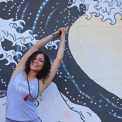 Yoga in the Streets of Petaluma