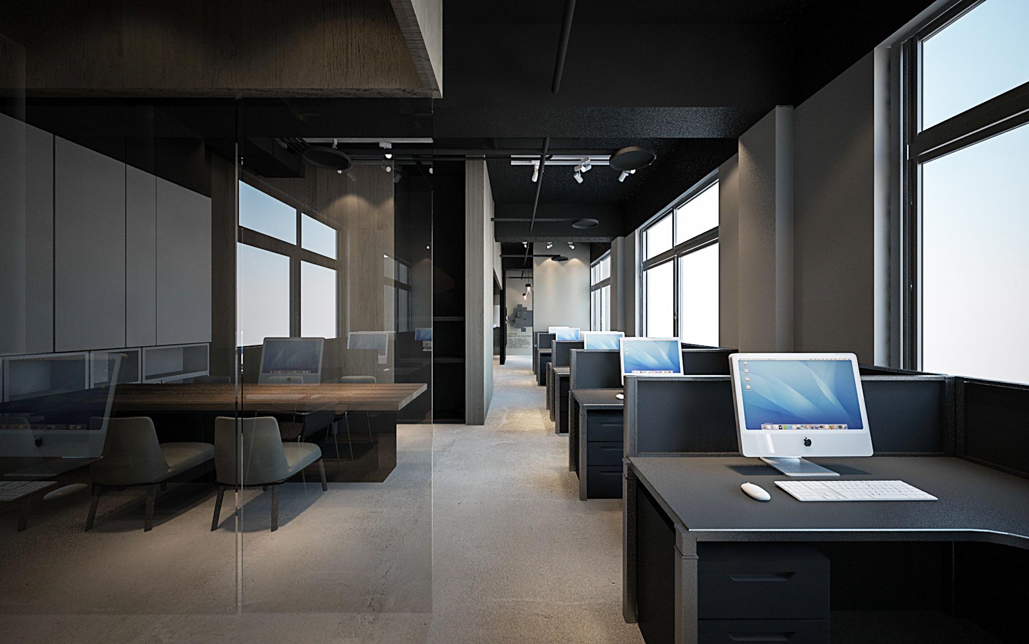 設計辦公區